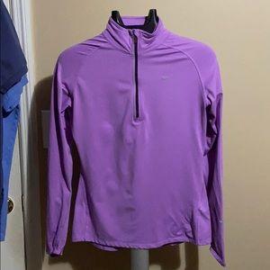 Women's Nike Dri-fit Jacket Purple M